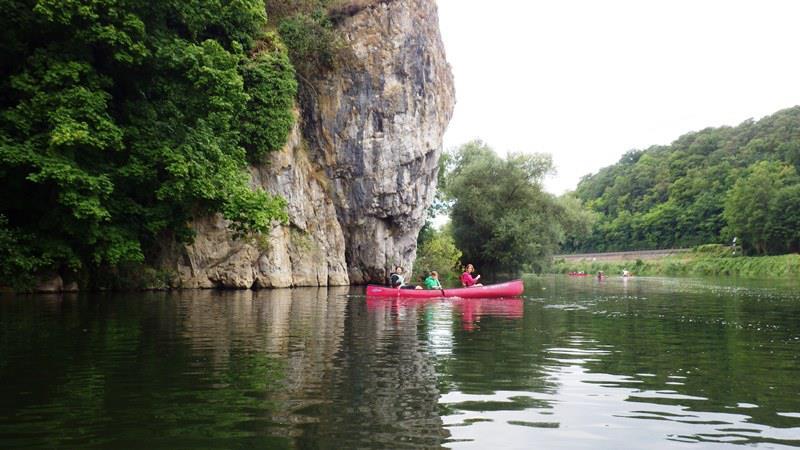 Großer Felsen - Kanutour - Weilburg - Runkel